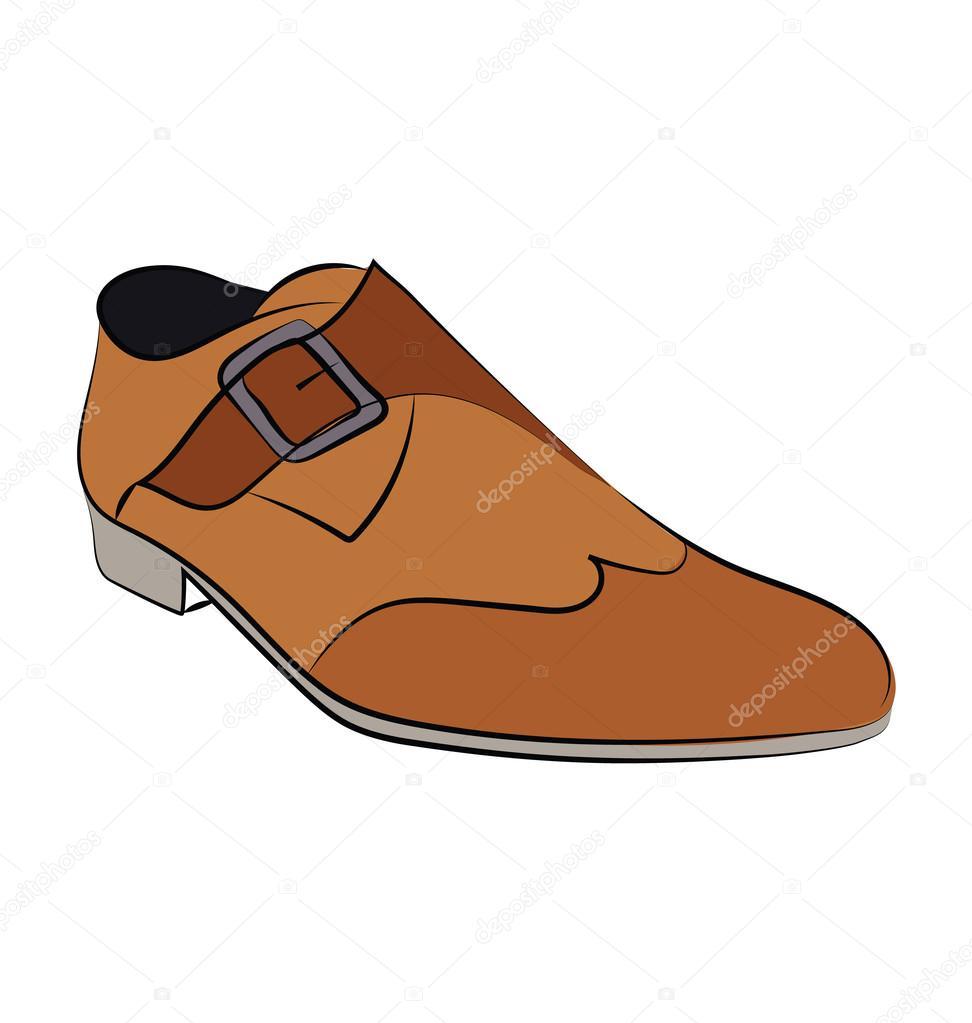 Schuhe Hand Gezeichneten Vektor Icon Stockvektor C Creativestall
