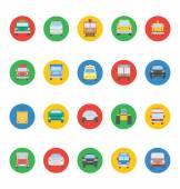 Transporty vektorové ikony 2
