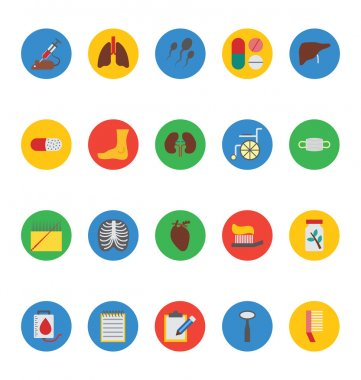 Medical Vector Icons 5