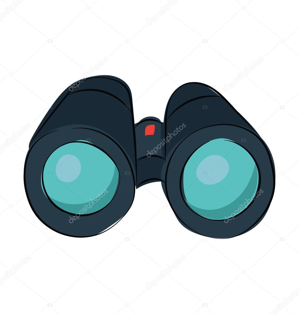 binoculars icon vector - photo #36