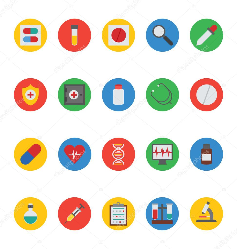 Medical Vector Icons 1