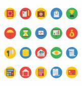 Podnikání a Finance vektorové ikony 1