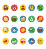 Business und Finanzen Vector Icons 7