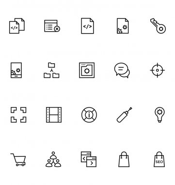 Productivity and Development Vector Icons 8
