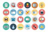 Flat SEO and Marketing Icons 5