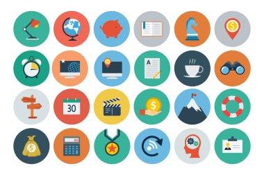 Flat SEO and Marketing Icons 2