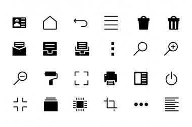 Universal Web and Mobile Vector Icons 6