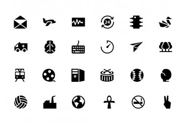 Universal Web and Mobile Vector Icons 12
