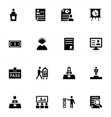 Staff Management Vector Icons 3