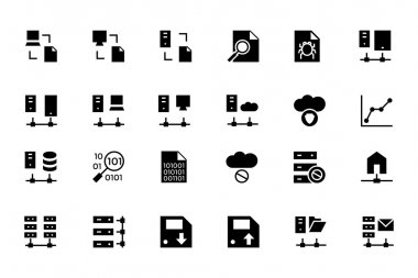 Database and Server Vector Icons 5