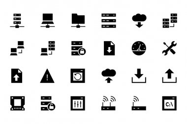 Database and Server Vector Icons 1