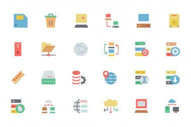 This database and server vector icons pack is loaded with awesome vectors that would be absolutely perfect for any web developer or designer. icon