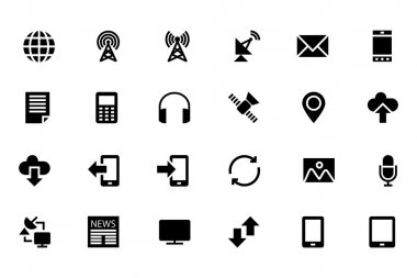 Communication Vector Icons 1