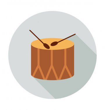 Drum Colored Vector Icon