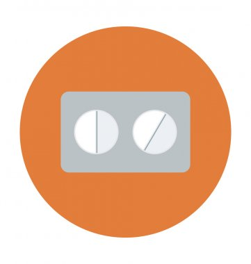 Capsule Colored Vector Icon
