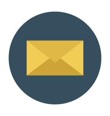 Envelope Colored Vector Illustration