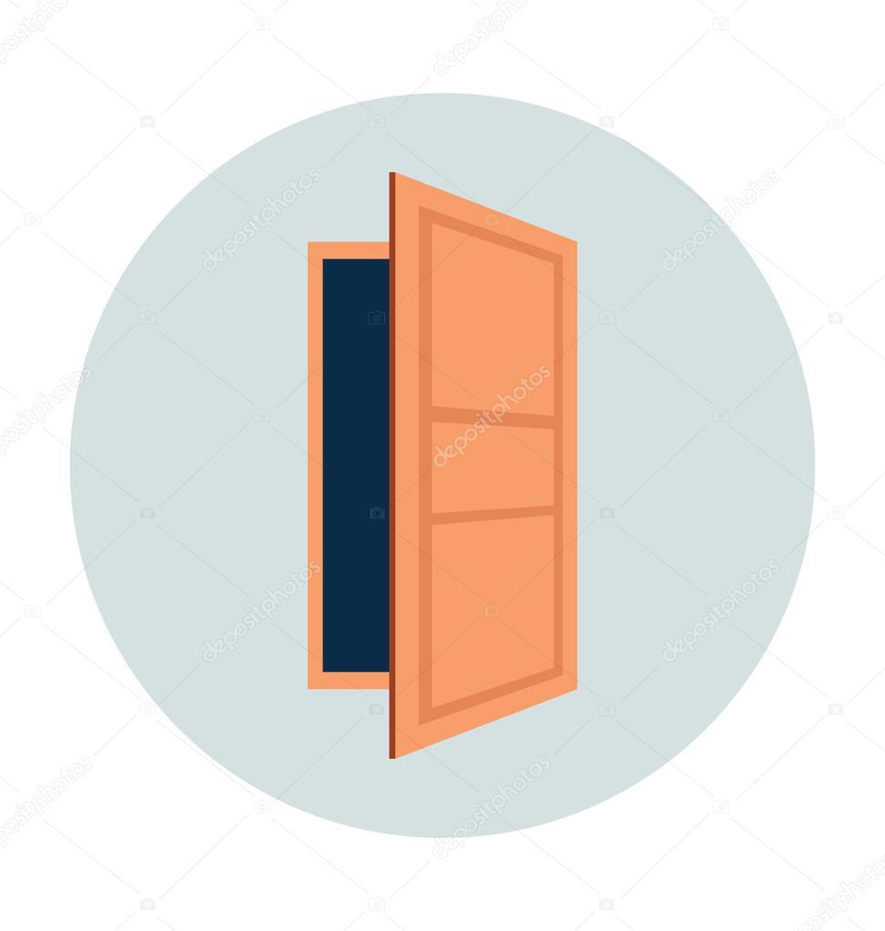 Картинка дверь открытая 2