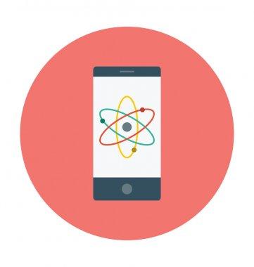 Mobile Colored Vector Icon