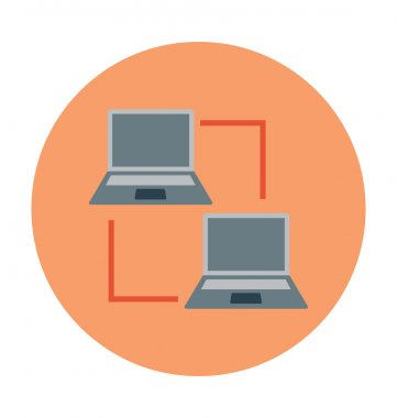Laptops Colored Vector Illustration