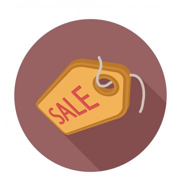 Sale Tag Colored Vector Illustration