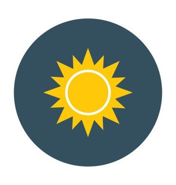 Sun Colored Vector Icon