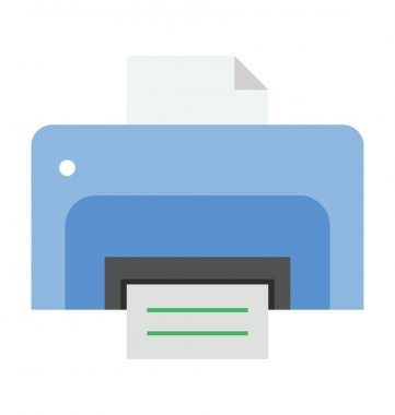 Printer Flat icons