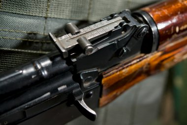 Rib on Firearms machine