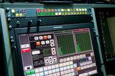 Fotografie Monitor for process control in the studio recording broadcast