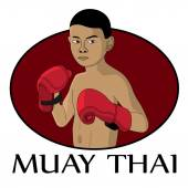 Photo muay thai kid