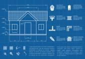 Fotografie Haus infographic