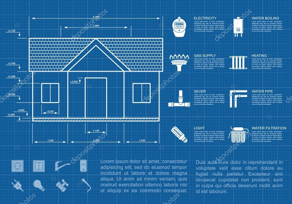 house infographic