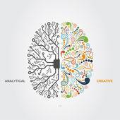 Fotografie koncepce mozku