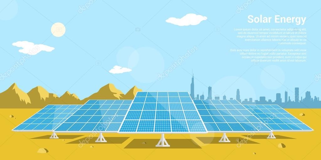 Solar energy — Stock Vector © Den the Grate@gmail com #86754712