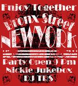 NewYork City Design Man tričko Vektorová Design