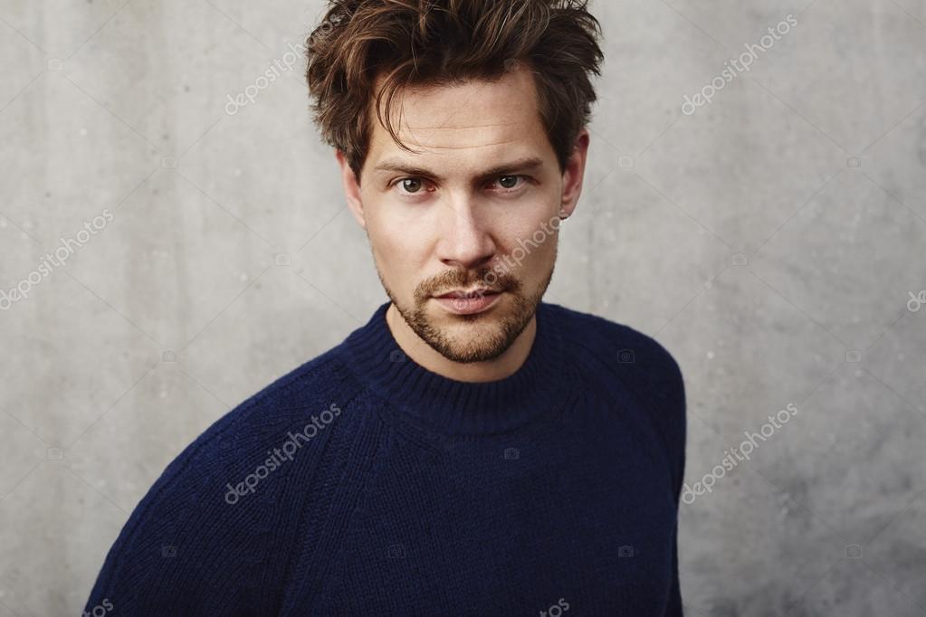 Beautiful handsome man