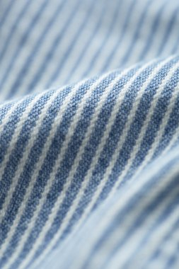 Striped denim material
