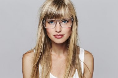 stunning blond student