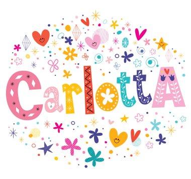 Carlotta female given name