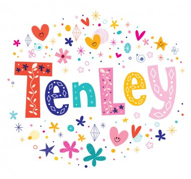 Tenley girls given name