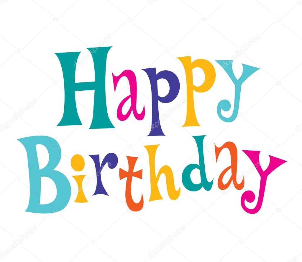 grattis på födelsedagen text Grattis på födelsedagen text — Stock Vektor © Aliasching #124167384 grattis på födelsedagen text