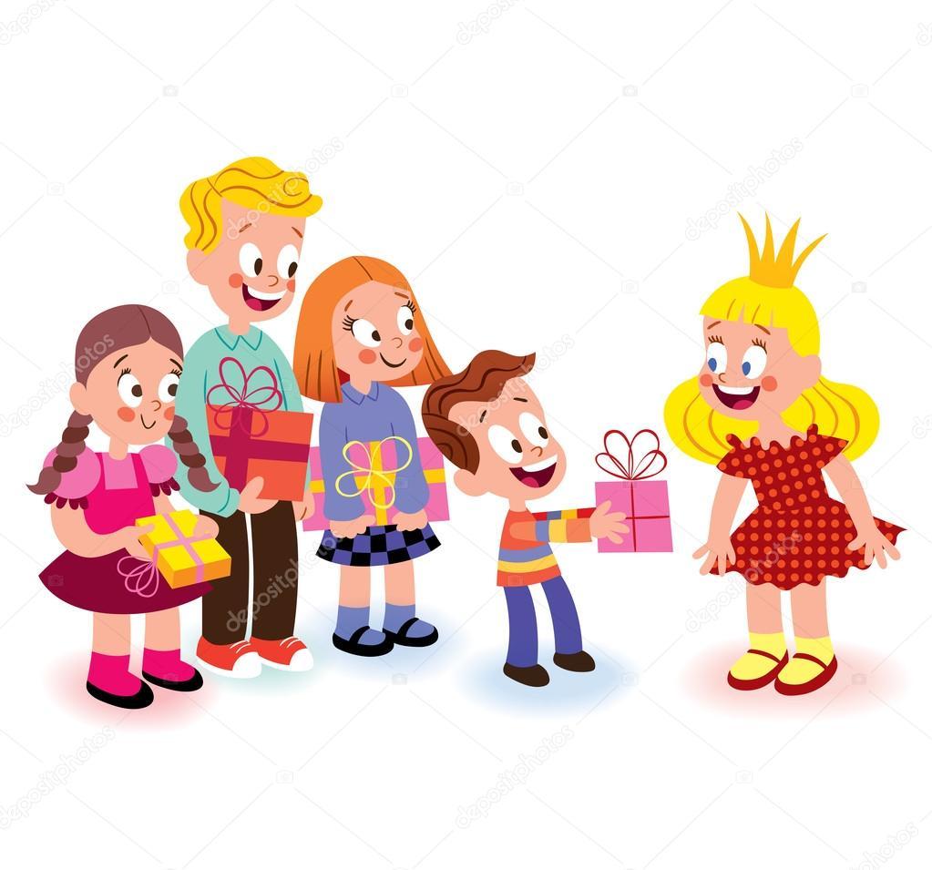 Geburtstag Kinder Stockvektor C Aliasching 58663137