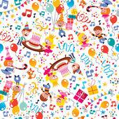 Fotografia Modello di partito felice compleanno dei bambini