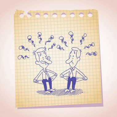 Two penniless businessmen