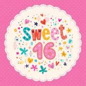 Sweet Sixteen karta