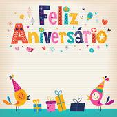 Fényképek Feliz Aniversario kártya