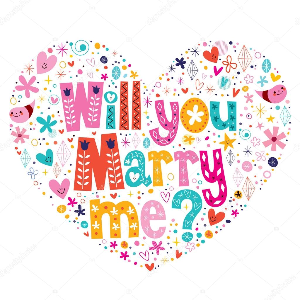 U marry sms will me Marriage Proposal