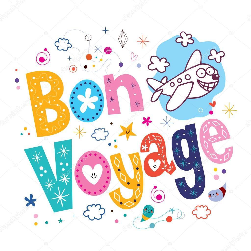 Bon Voyage - decorative type l...