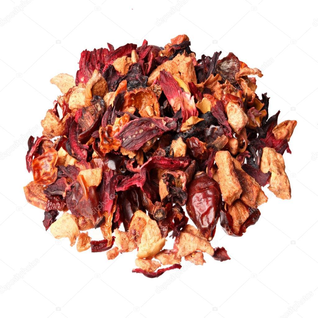 Fruit Teaingredients Apple Pieces Hibiscus Rose Hips Elderberry