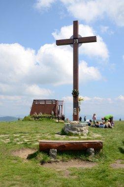 Beskidy (cross on the  Velka Raca), Slovakia