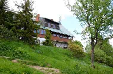 Mountain shelter in Beskidy (Wielka Racza, Poland)